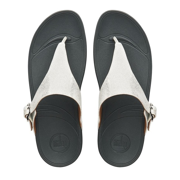 7bc72e587 Fitflop Shoes - FitFlop Skinny Deluxe Sandal Silver size 7
